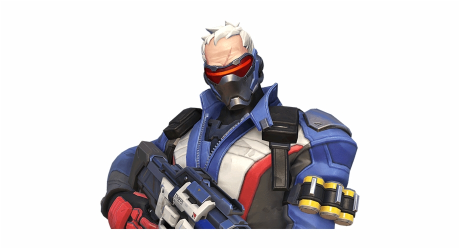 soldier 76 png #9