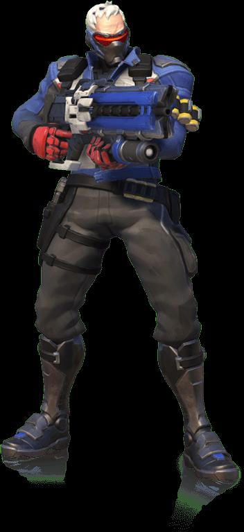 Soldier 76 (Overwatch).