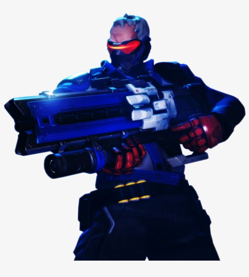 Overwatch Soldier 76 Png Clip Art Transparent Download.