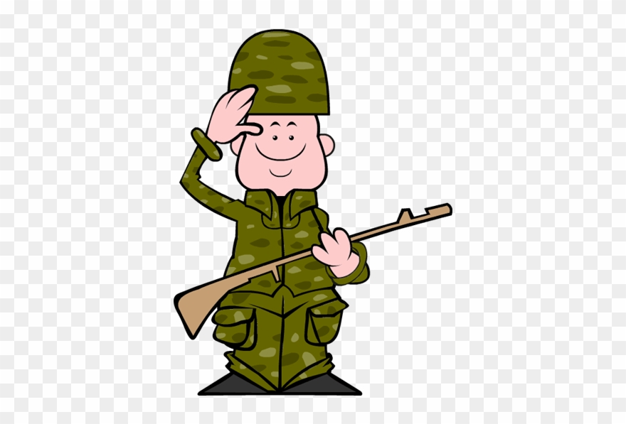 Clip Art Veterans Day Soldier.