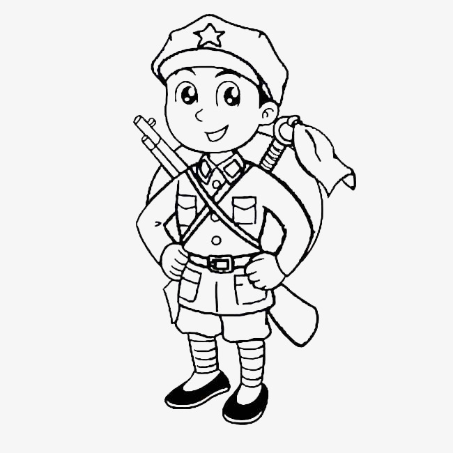 Army Clipart Black And White (90+ images in Collection) Page 1.