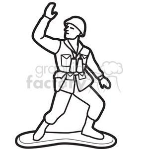 Soldier clipart black and white » Clipart Portal.