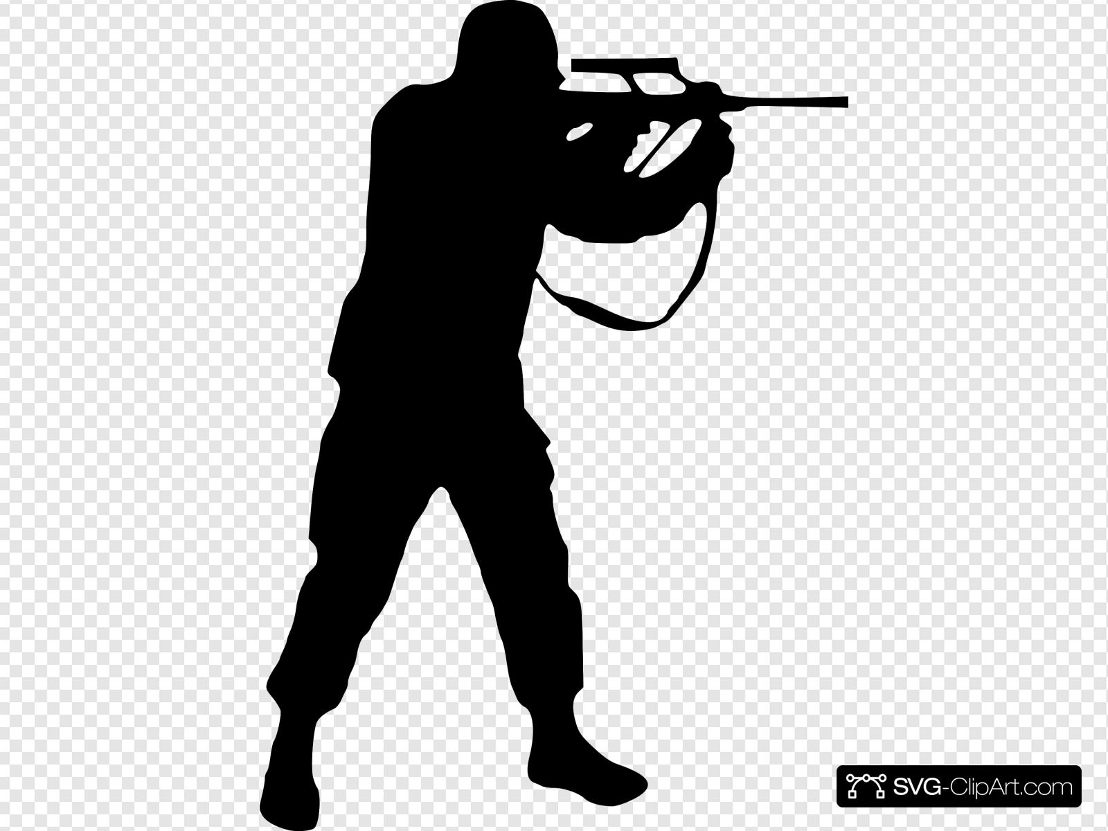 Soldier Clip art, Icon and SVG.