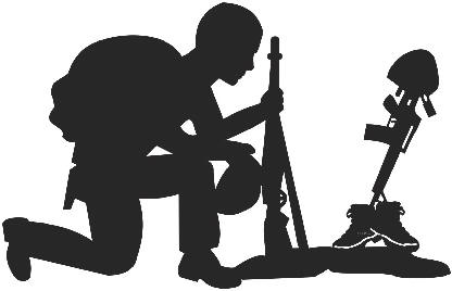 Free Soldier Praying Silhouette, Download Free Clip Art.