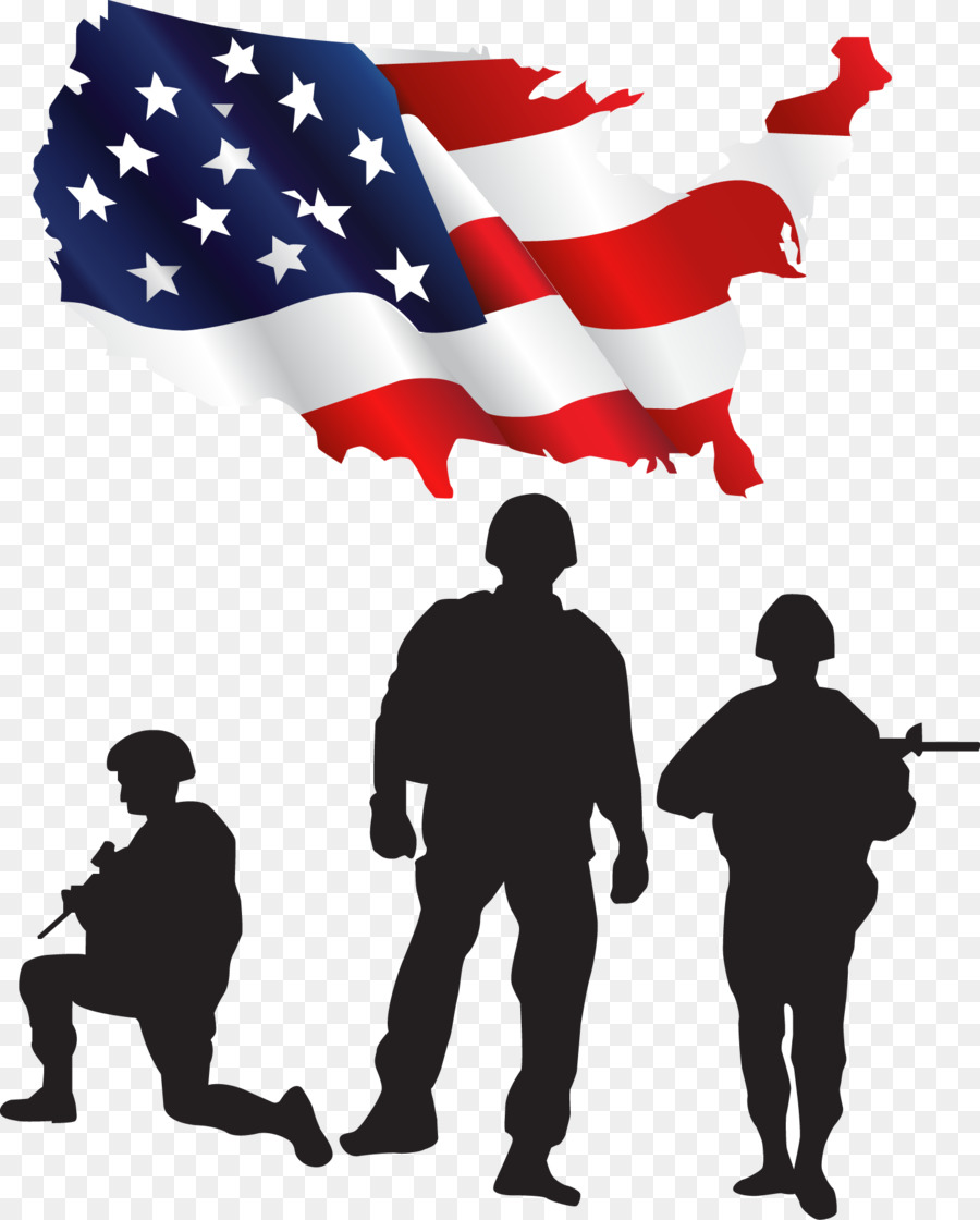 United States Soldier Salute Clip art.