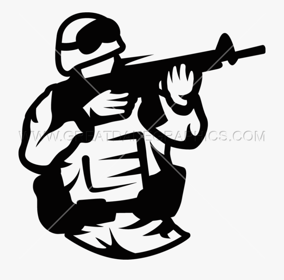 Shooter Clipart Soldier.