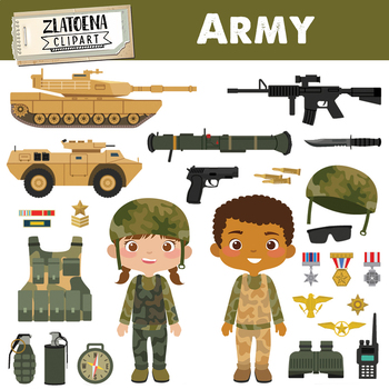 Army Clipart Military vector graphics Patriot Digital Clip Art Soldier  clipart.
