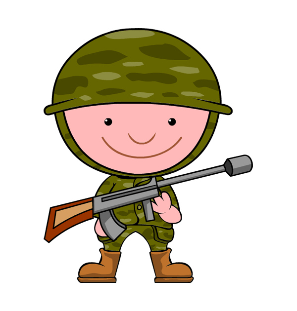 Soldiers clip art free clipart images.