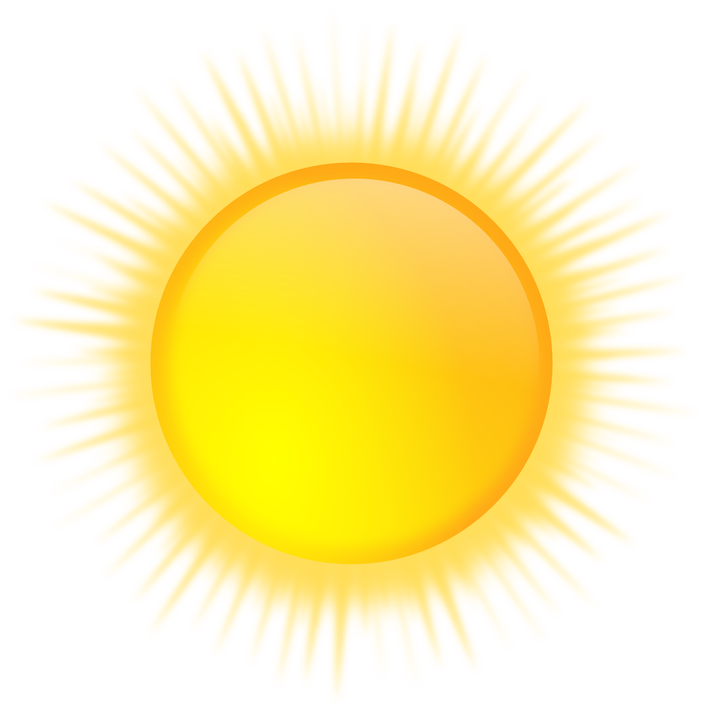 Soleil png 6 » PNG Image.