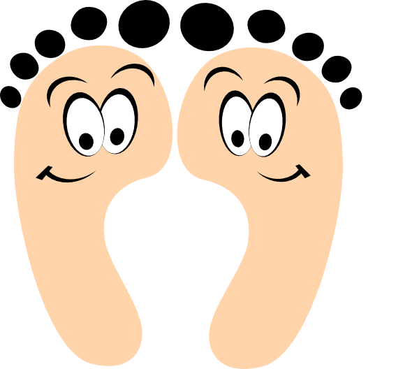 Happy Soles Clip Art.