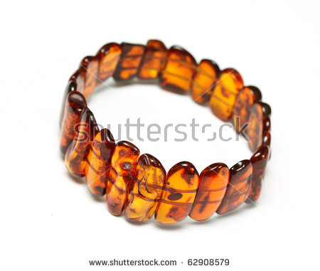 Amber Fossil Stock Photos, Royalty.