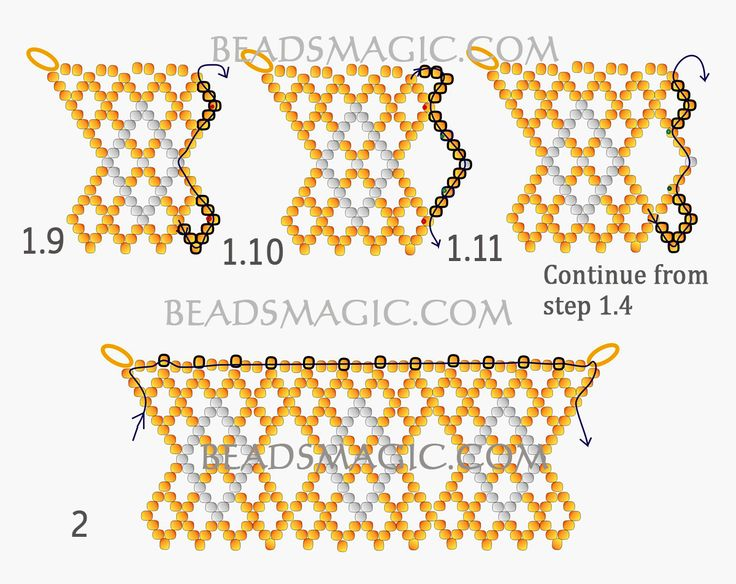 10+ ideas about Seed Bead Necklace on Pinterest.