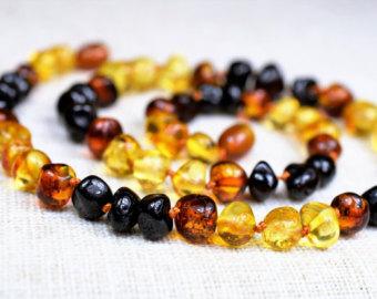 Baltic amber jewelry.