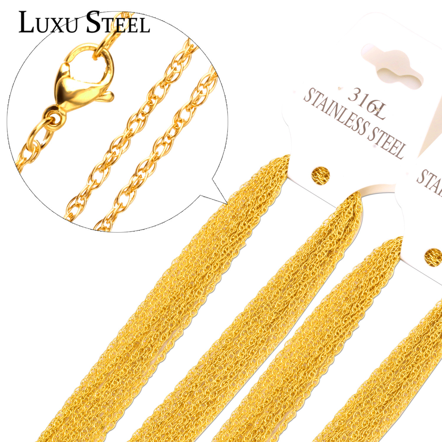 Online Get Cheap Gold Solid Necklace.