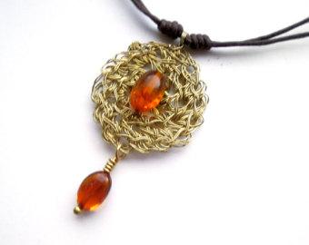 100 pcs Natural Baltic amber beads 5.