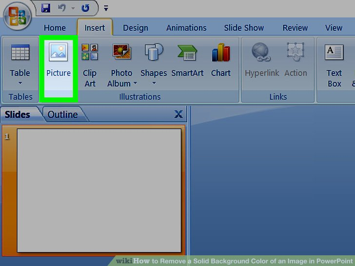 How to Remove a Solid Background Color of an Image in PowerPoint.
