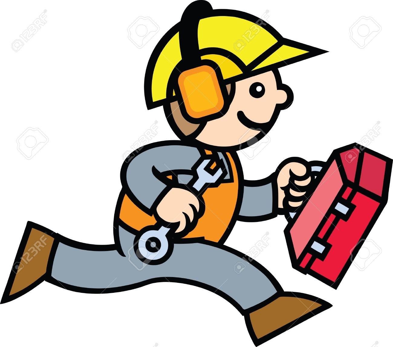Construction Guy Clipart.