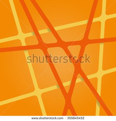 Bright Orange Streaks Stock Photos, Royalty.