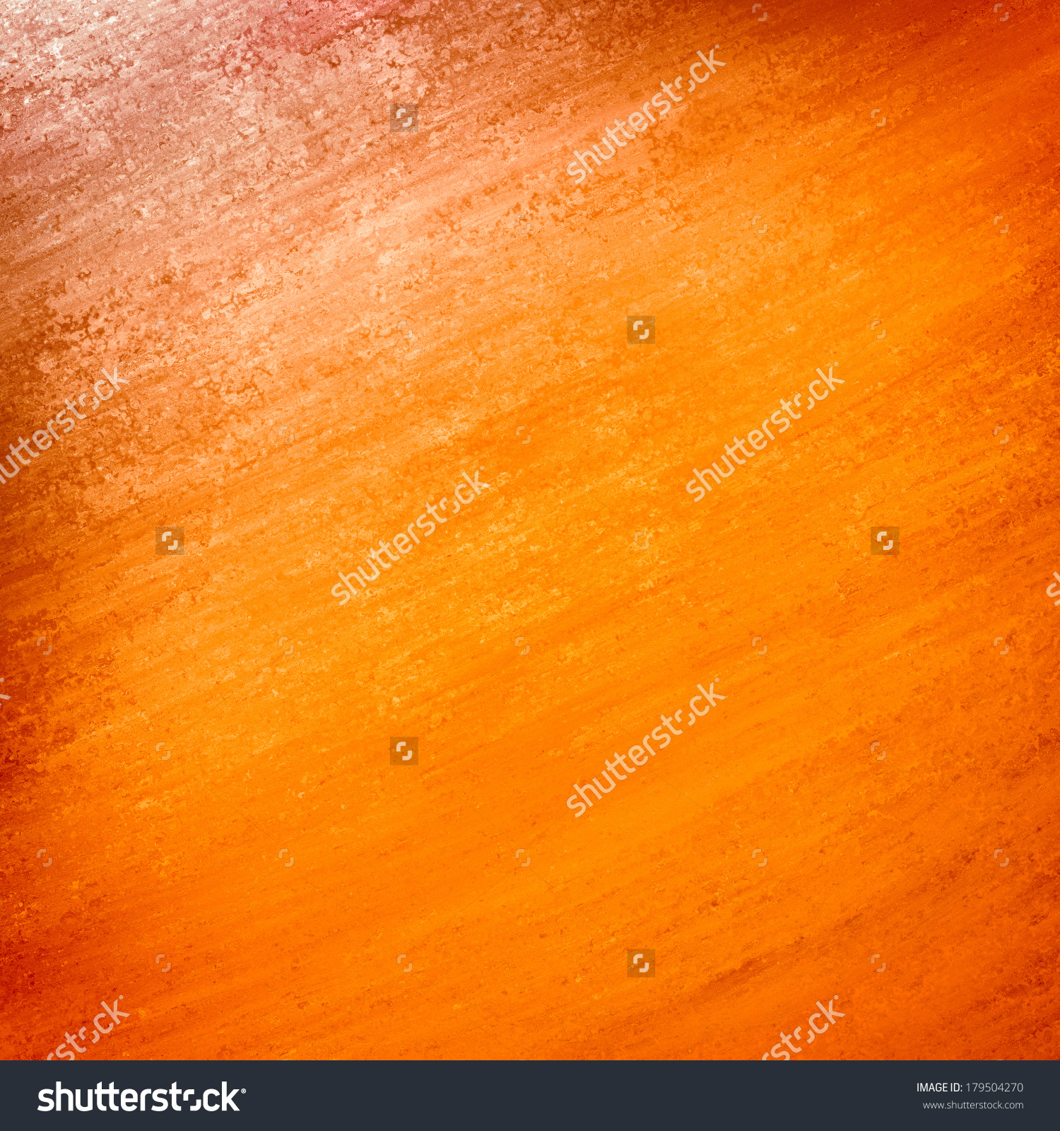 Solid Orange Gold Background Wall Paint Stock Illustration.
