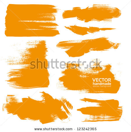 Orange Paint Stock Photos, Royalty.