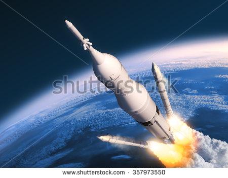 Rocket Booster Stock Photos, Royalty.