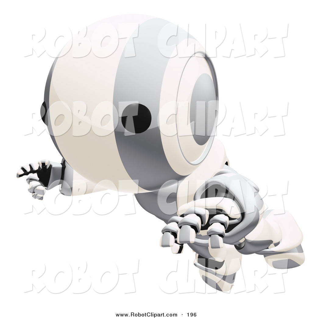 Royalty Free Silver Stock Robot Designs.