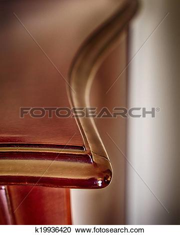 Stock Photography of vintage solid wood furniture detail k19936420.