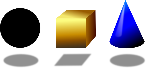 Similiar Solid Geometric Shapes Clip Art Keywords.