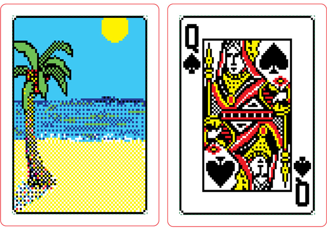 Solitaire.exe, A Real Deck of Cards Inspired by the Windows 98.