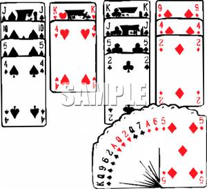 Art Image: A Game of Freecell.