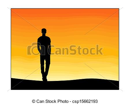 Loneliness Clipart.