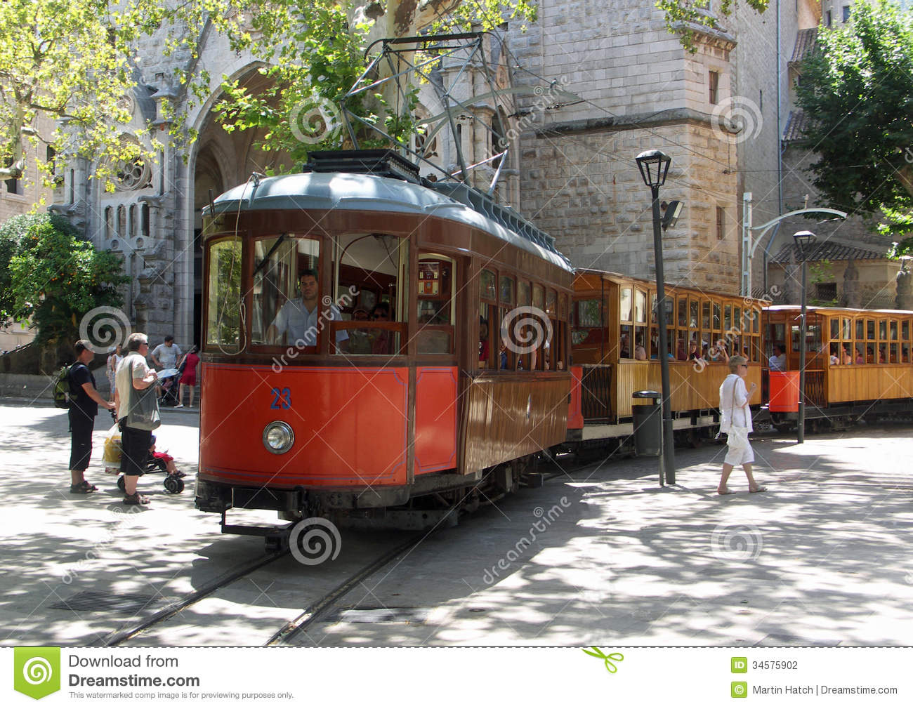 Soller Train Stock Photos, Images, & Pictures.