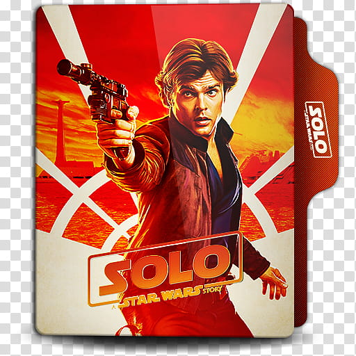 Solo A Star Wars Story Folder Icon, Solo () transparent.