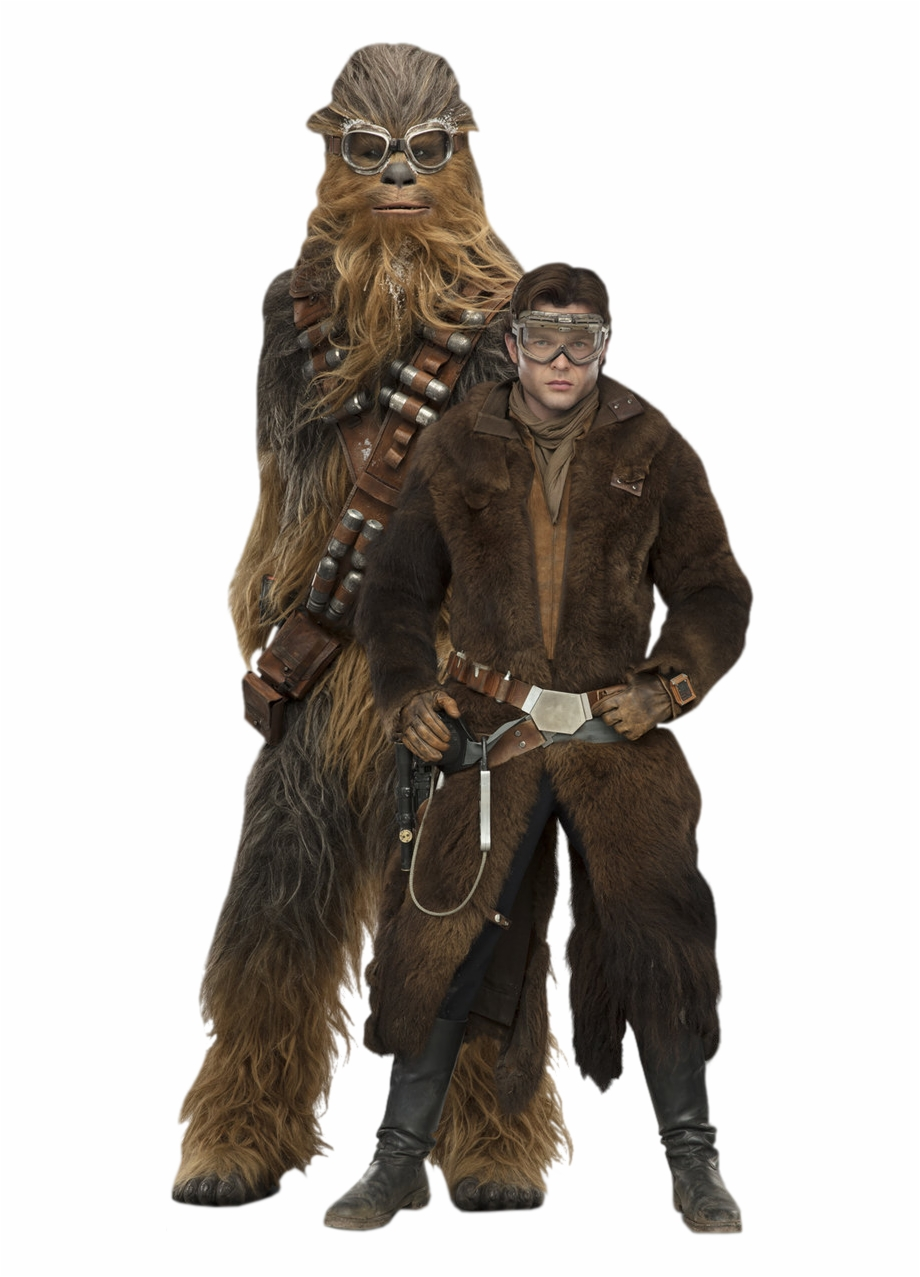 Han And Chewie Solo A Star Wars Story.