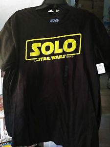 Details about SOLO \'A STAR WARS STORY\' MOVIE LOGO HAN SOLO T.
