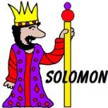 Solomon clipart.