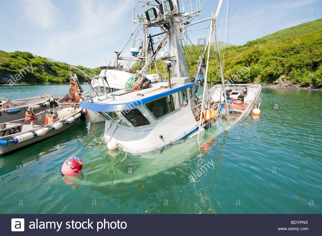 Sinking Fishing Boat Stock Photos & Sinking Fishing Boat Stock.
