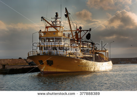 Commercial Fishing Stock Photos, Royalty.