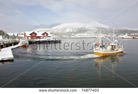 Norway Fishing Stock Photos, Royalty.
