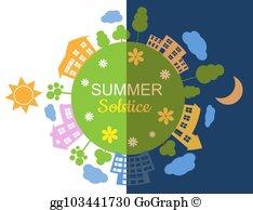 Summer Solstice Clip Art.