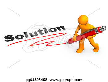 Find Solution Clip Art.