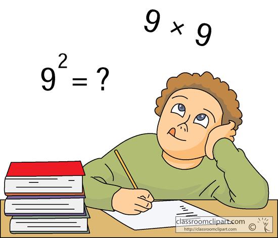 Solve Math Clipart.