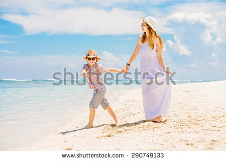 Mom And Son Stock Photos, Royalty.