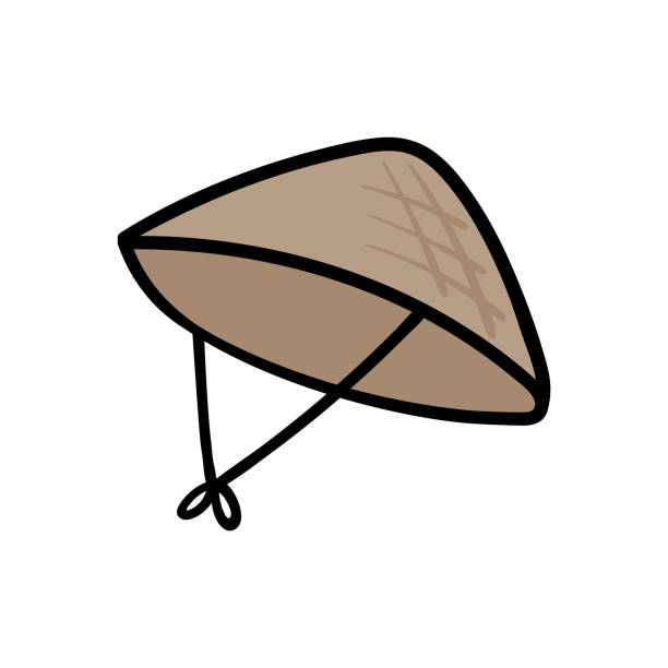 Rice Hat Clipart.