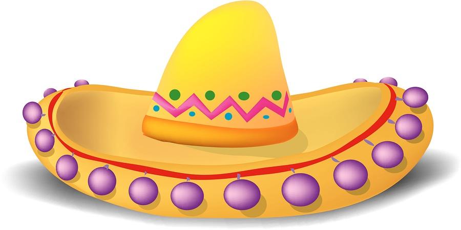 Sombrero clip art 6.