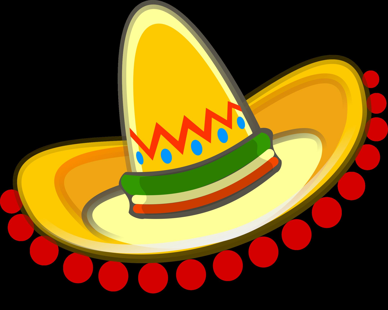 Mexican Sombrero Clipart.