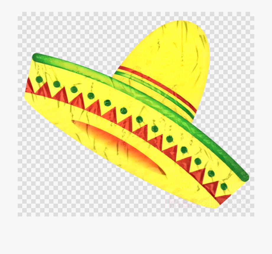 Sombrero Clipart Colorful.