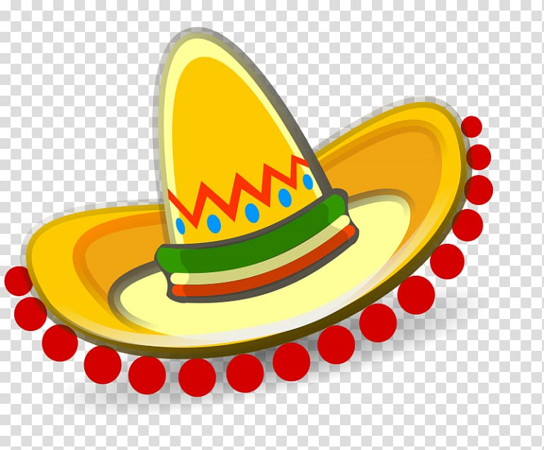 Sombrero Hat , Hat transparent background PNG clipart.