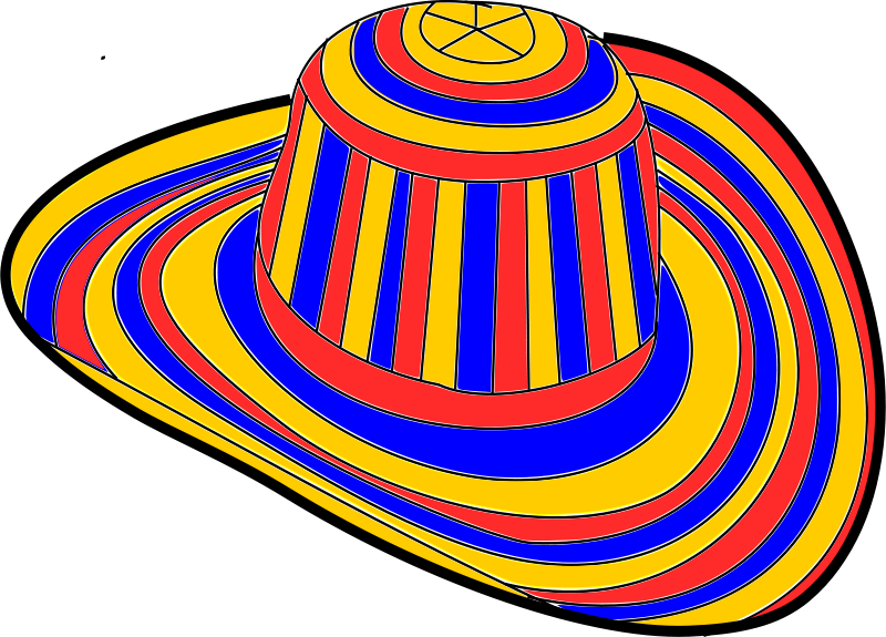 Free Clipart: Sombrero voliado \