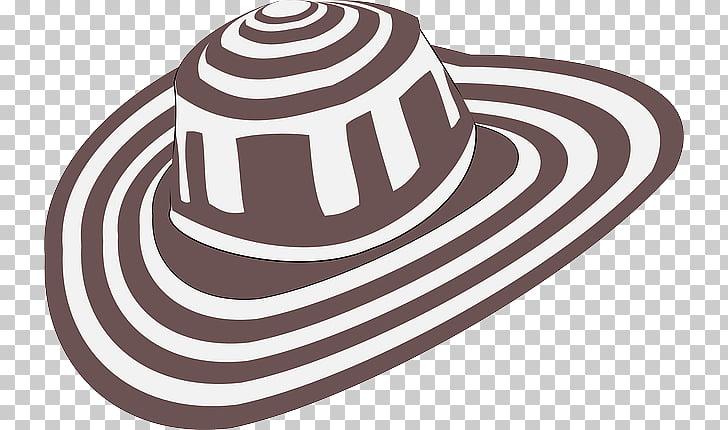 Hat Sombrero vueltiao , Hat PNG clipart.